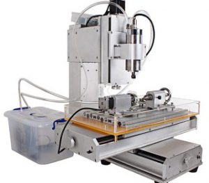 HY-3040-4Axis CNC Aluninum Router Machine สำหรับงานมิลลิ่ง