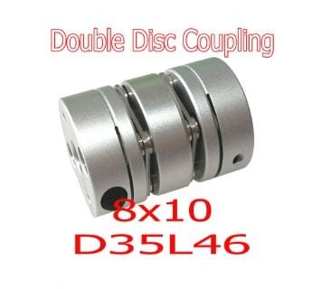 คัปปลิ้ง Double Disc ขนาด 8X10 D34L46