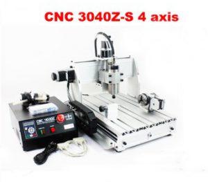 เครื่อง มินิ CNC3040Z-DQ+S800W 4 Axis