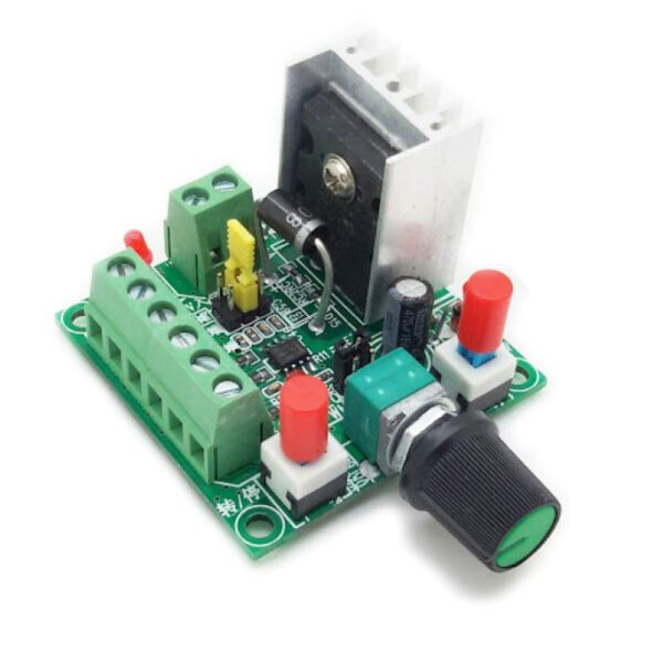 Speed PWM Stepper Motor Pulse Signal Generator