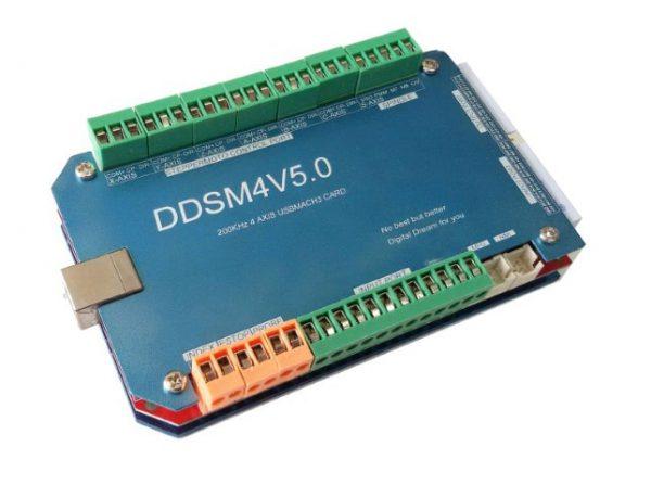 CNC USB Interface 4 Axis 200KHz Mach3