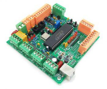 4 Axis บอร์ด CNC USB MK1 Interface Borad
