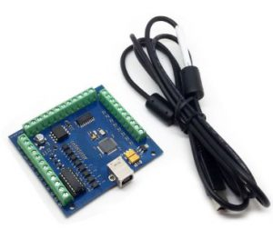 Mach3 USB 4 Axis 100KHz Stepper Motor Driver Breakout Board