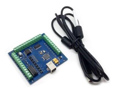 Mach3 USB 4 Axis 100KHz Stepper Motor Driver Breakout Board