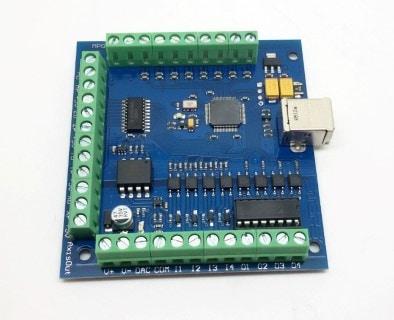 Mach3 USB 4 Axis 100KHz Breakout Board