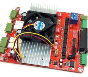 CNC 3 แกน สีแดง ขนาดขับ 3.5A. TB6560