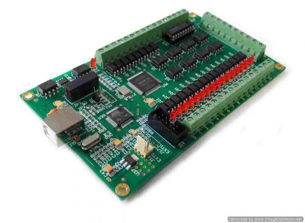 บอร์ดคอนโทรล CNC USB 200Khz 4Axis