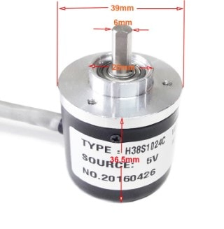 Rotary Encoder ABZ 3 PHASE 1024 Line
