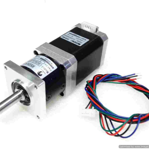 มอเตอร์ Stepper Motor NEMA17+Planetary Square Geared