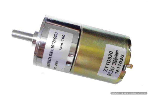 DC Motor ZYTD520 24V 100RP