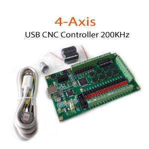 4Axis-CNC-Controller-200KHz