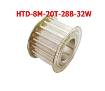 HTD8M-20T-35W Aluminum Pulley