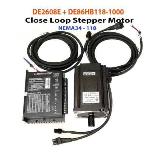 Nema34-118-Close-Loop-Stepper-Motor