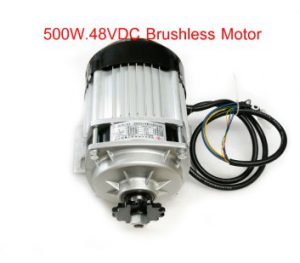 500w Dc 48V brushless motor, electric bicycle motor