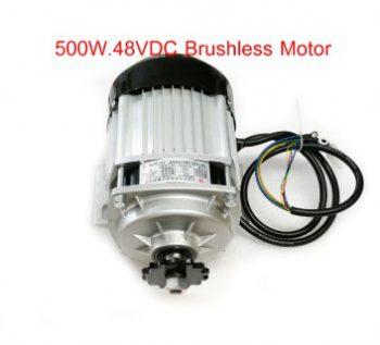 500w Dc 48V brushless motor, electric bicycle motor