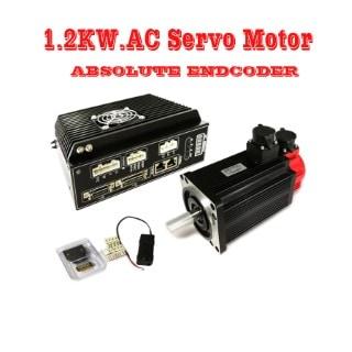 1.2KW. AC Servo Motore Absolute Encoder