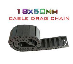 กระดูกงู 18X50mm Cable Drag Chain