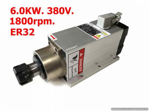 6KW 380v Air Cool Spindle Square