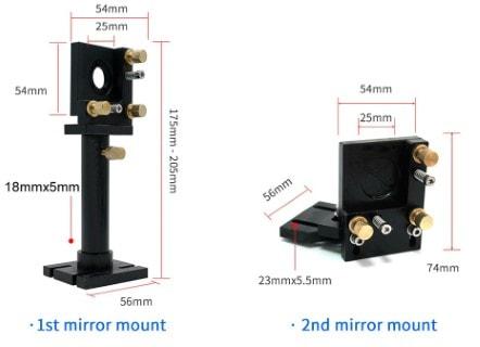 CO2 Laser Head Set B