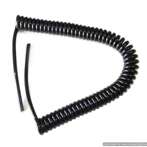 Spiral Cable ขนาด 2 Core 1 Sq Mm. ยืดออก 3ม.