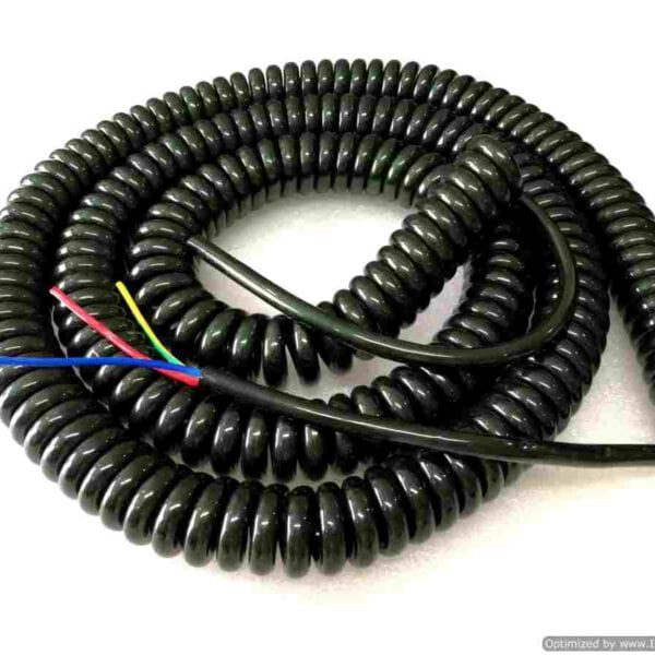 Spiral Cable ขนาด 3core,1.5sqmm. ยืดออก 10ม.