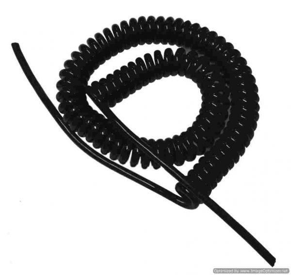 Spiral Cable ขนาด 3core,0.75sqmm. ยืดออก 3ม.