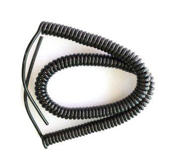 Spiral Spring Cable ขนาด 2core, 0.5 Sqmm. ยืดออก 5ม.