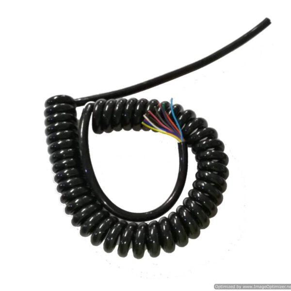 Spiral Cable ขนาด 12core, 0.5sqmm. ยืดออก 2ม.