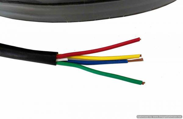 สายไฟสำหรับมอเตอร์ 4 Pin X 1sqmm.17AWG