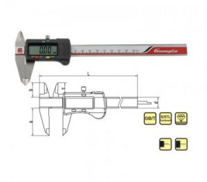 0-100mm 4inch Digital Caliper Guanglu Brand