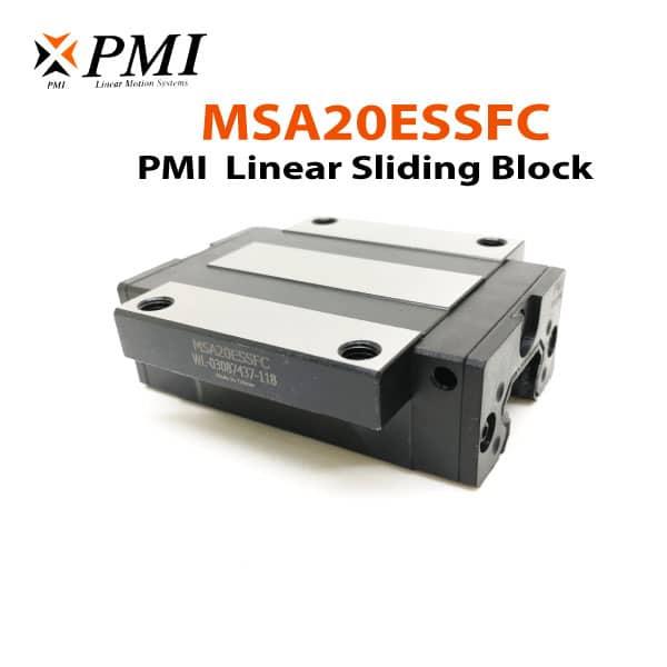 MSA20ESSFC-PMI-Linear-Sliding-Block