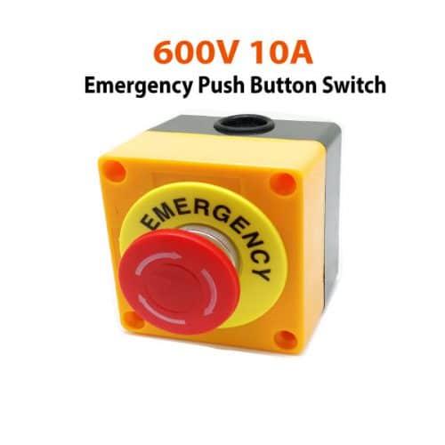 600V-10A-Emergency-Push-Button-Switch