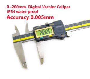 200mm.Accuracy 0.005mm Digital Caliper