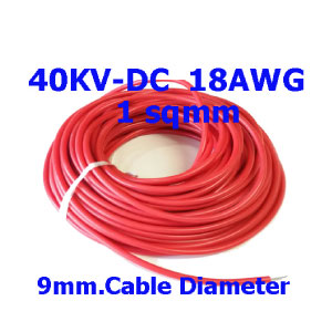 40KV-DC-18AWG-Silicone-High-voltage-Cable