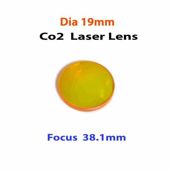 Co2 Lens Dia-19mm-F38.1mm