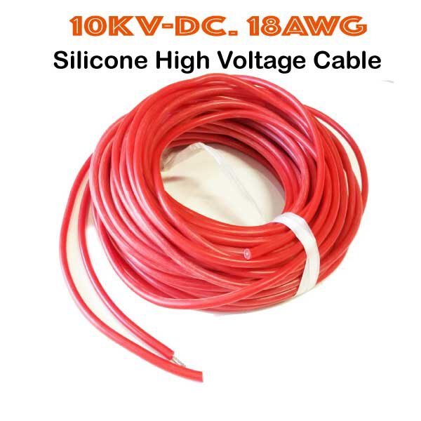10KV-DC.18AWG.Siliclone-Cable