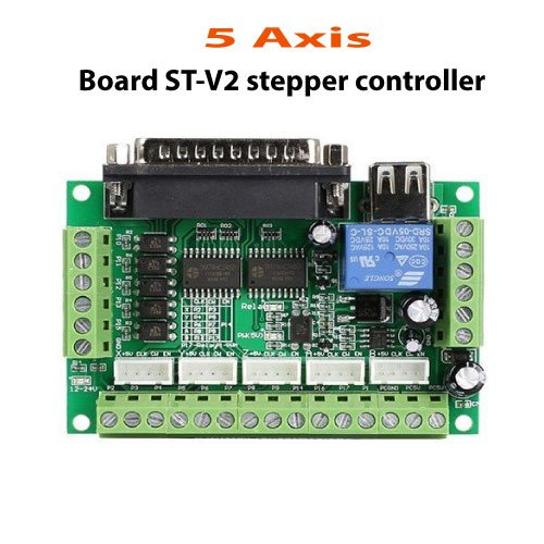 5-Axis-Board-ST-V2-stepper-controller