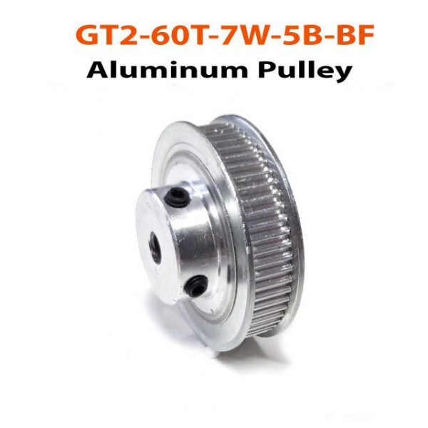 GT2-60T-7W-5B-BF-Aluminum-Pulley