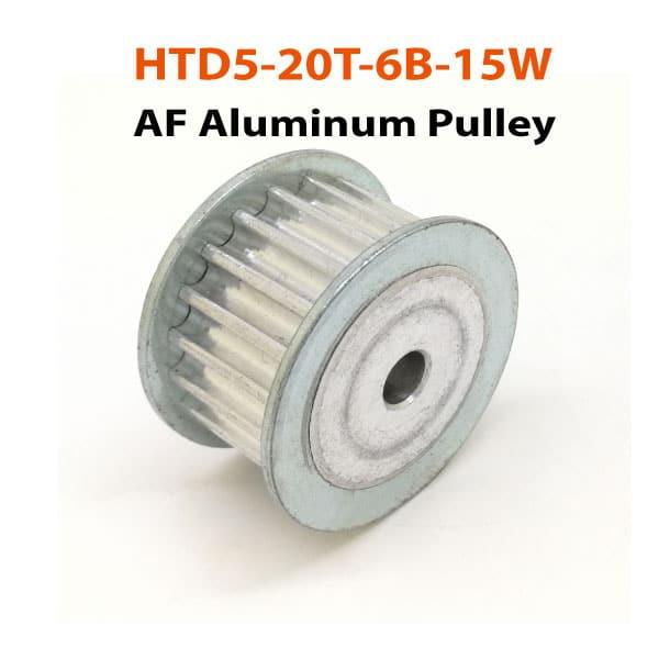 HTD5-20T-6B-15W-AF-Aluminum-Puley