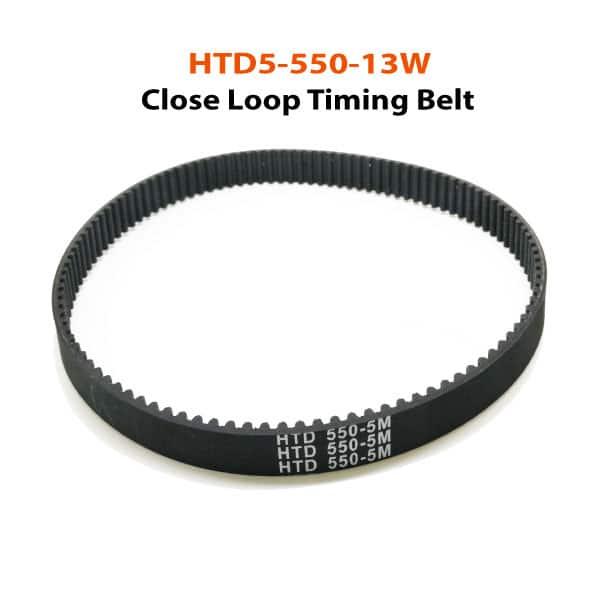 HTD5-550-13W-close-loop-timing-belt