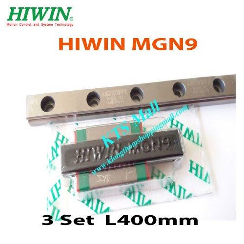 MGN9-400mm.HIWIN-Linear-Guide