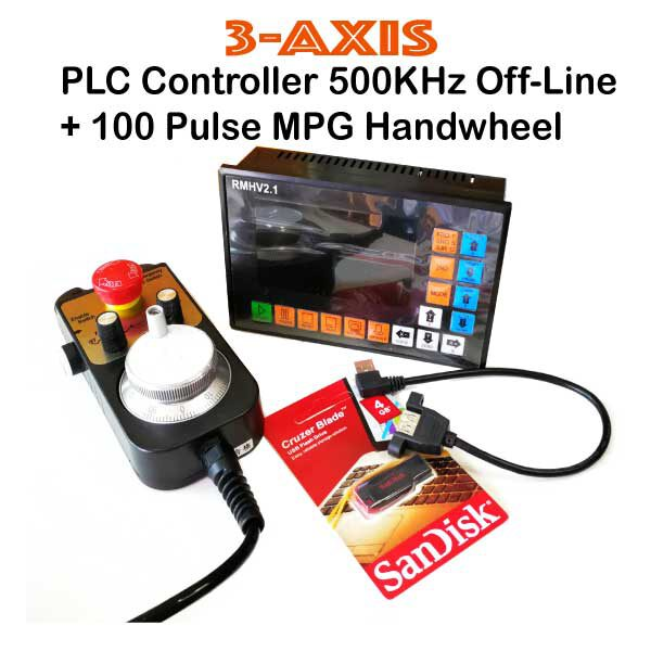 3Axis-PLC-Controller-500KHz-Off-Line-