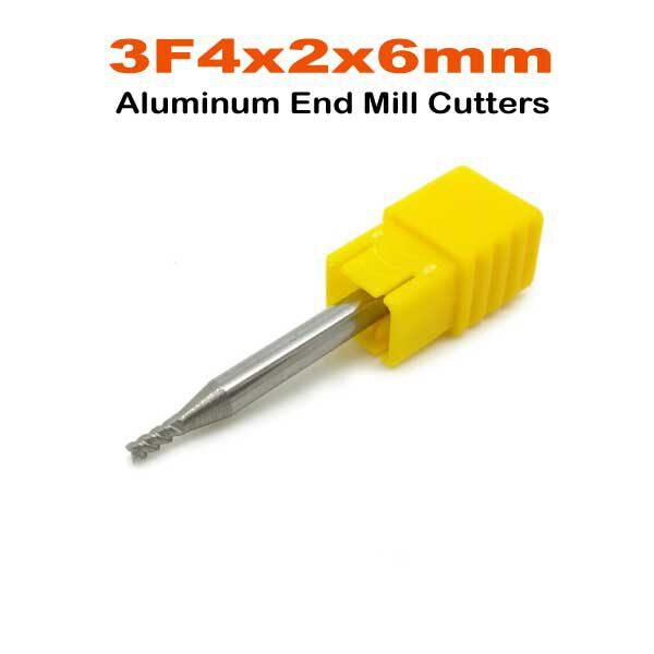 3F4x2x6mm.Alu-End-Mill