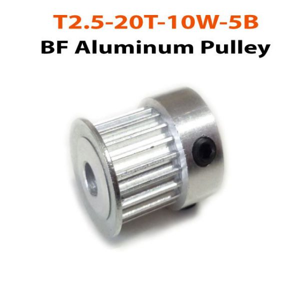 T2.5-20T-10W-5B.BF-Pulley