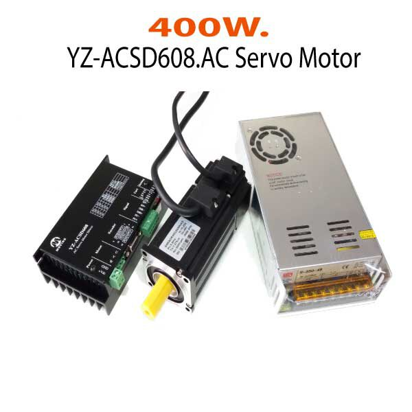 YZ-ACSD608-400W.AC-Servo-Motor