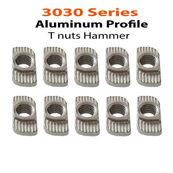 3030 Series T nuts Hammer