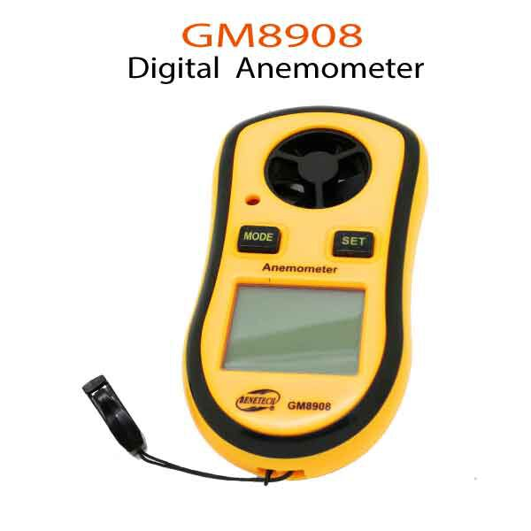 GM8908-Anemometer
