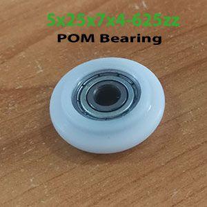 5x25x7x4-625zz-POM-Bearing
