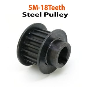 5M-18Teeth-Steel-Pulley