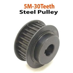 5M-30Teeth-Steel-Pulley